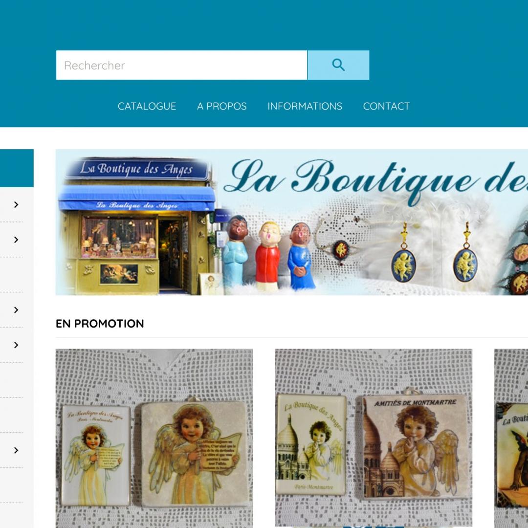 Logo projet La Boutique des Anges Jérémie de Cuyper